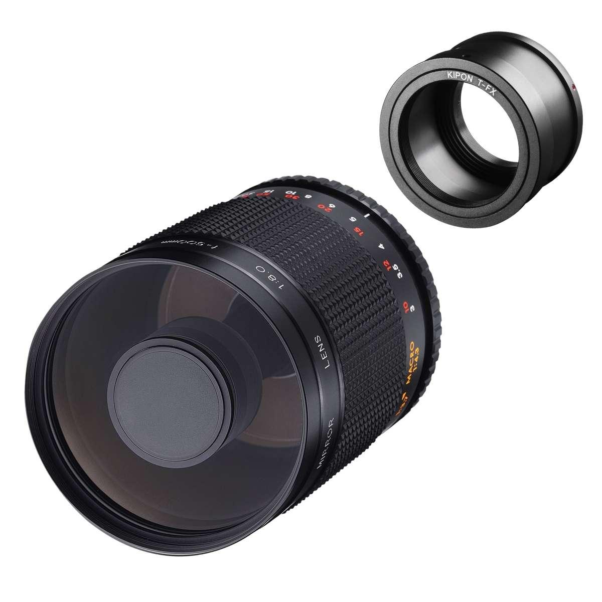 Walimex pro 800//8,0 DSLR Spiegel C-Mount