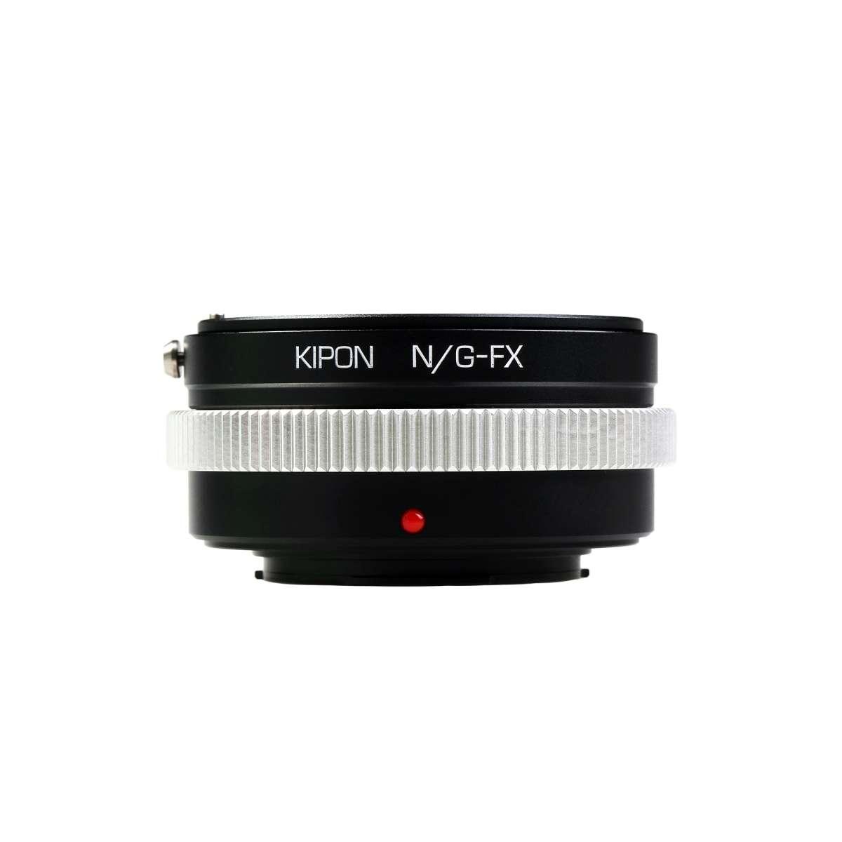 Kipon Adapter Fr Nikon G Auf Fuji X Foto Walser Lens To Fujifilm Gfx Camera