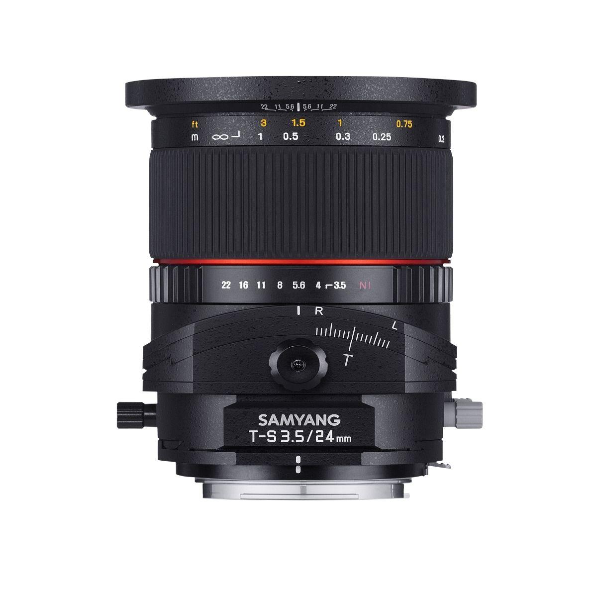 Samyang 24/3,5 DSLR T/S Nikon F | Foto Walser